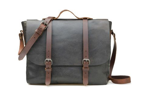 Genuine Leather Gents Satchel - from Mat & May