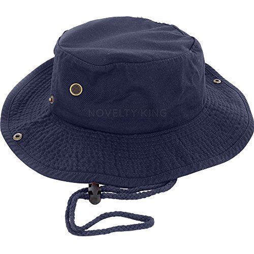 100% Cotton Boonie Fishing Bucket Hat with String - http://todays-shopping.xyz/2016/06/27/100-cotton-boonie-fishing-bucket-hat-with-string/