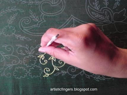 Learn Aari embroidery · Needlework News | CraftGossip.com