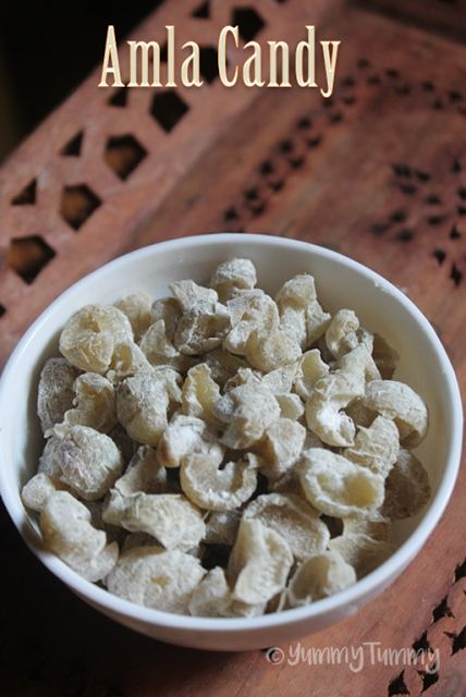 YUMMY TUMMY: Amla Candy Recipe - How to Make Gooseberry Candy at Home