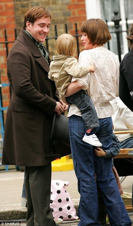Matthew - Daddy's little boy, Ralph. Maggie is hanging onto Mama's leg.