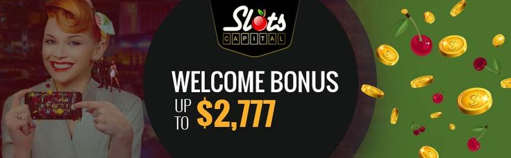 #Signup for a #real  money account with #slotscapital #casino and every new player gets an opportunity to claim the #WelcomeBonus worth $2,777. No #bonus code required.
