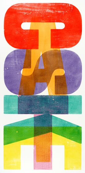 Alan Kitching – Casket #typography #graphicdesign