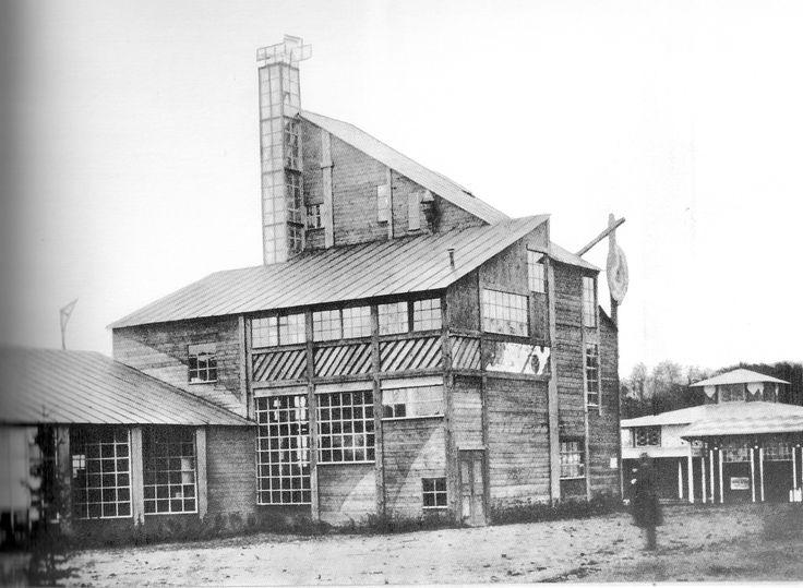 moscow, Machorka pavilion konstantin melnikov, 1923