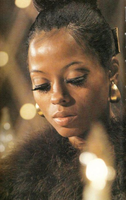 epitome of '60s glamour ... Diana Ross