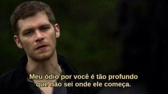 Como não amar o Klaus? ❤️