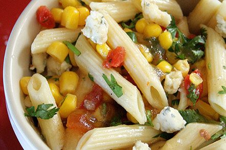 Spicy and Cool Pasta Salad