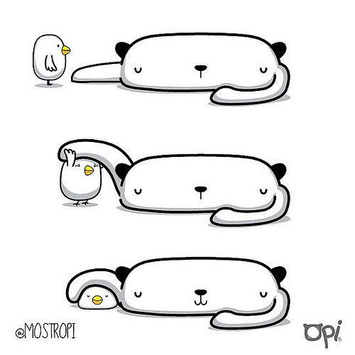 Perfecto #OPI #cute #kawaii #mostropi #illustration #ilustración | por OSCAR OSPINA STUDIO