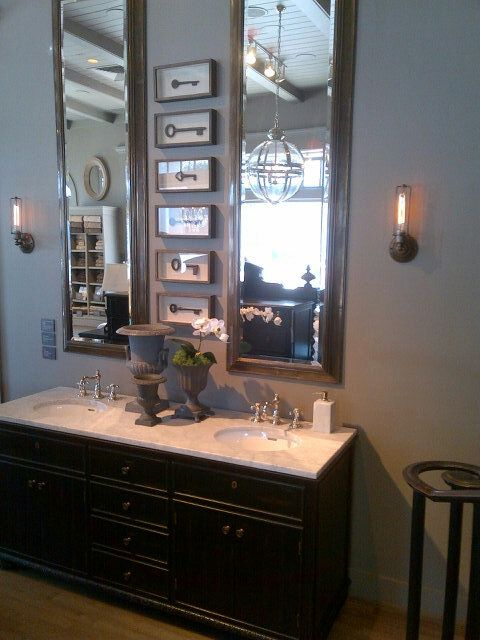 restoration hardware bathroom ideas pinterest