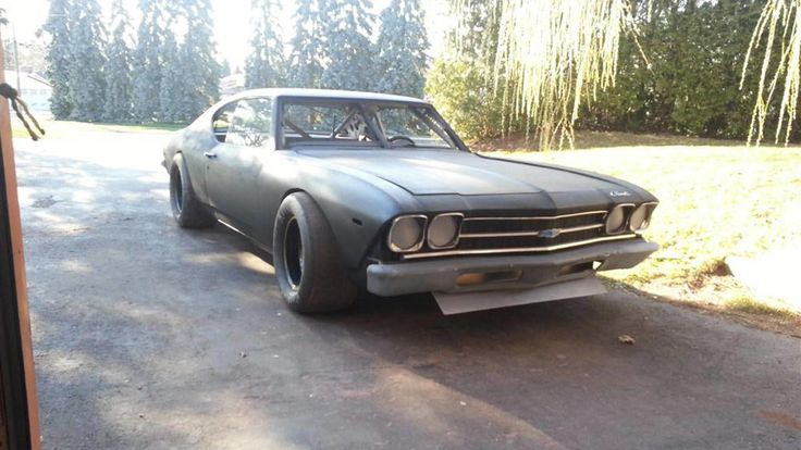 This '69 Chevelle hides a race-ready NASCAR engine
