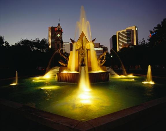 Queen Victoria fountain, Adelaide