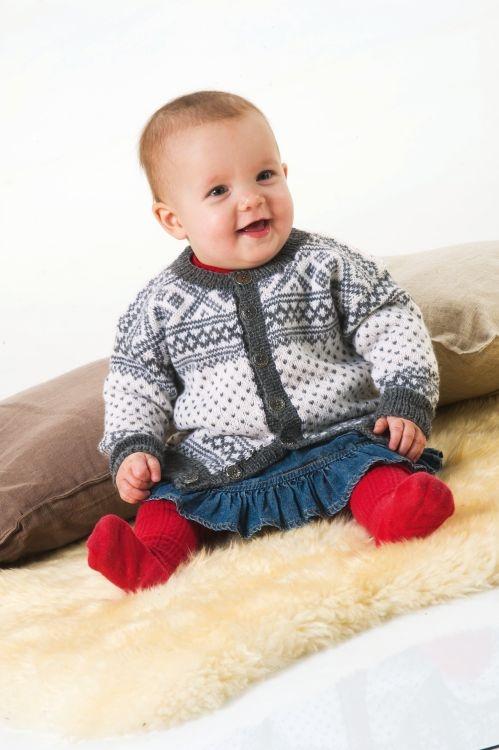 Kofta #knittingroom #stickat #garn #barn