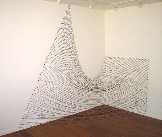 Sabine Reckewell Installation Art String Oakland
