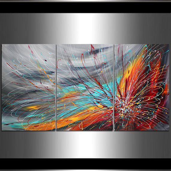 Les 25 meilleures id es de la cat gorie peinture textur e for Peinture argentee murale