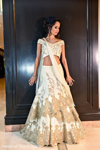 white wedding reception lengha                                                                                                                                                                                 More