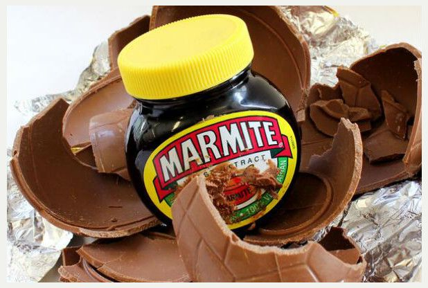 Marmite chocolate Easter egg.