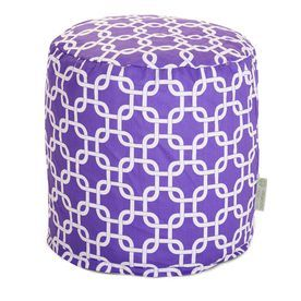 Majestic Home Goods Purple Bean Bag Chair 85907220465
