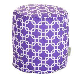 Majestic Home Goods Purple Bean Bag Chair 85907220465