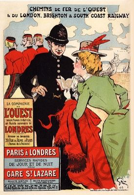 Jules Alexandre Gruen, Chemin de fer de l'ouest Paris Londres Brighton