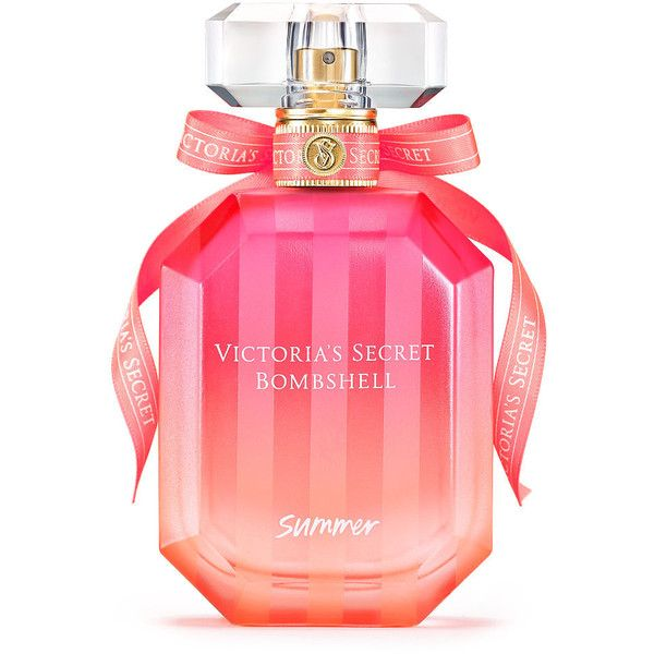 Victoria's Secret Bombshell Summer Perfume (£53) ❤ liked on Polyvore featuring beauty products, fragrance, victoria secret perfume, victoria's secret, parfum fragrance, fruity perfume and perfume fragrance
