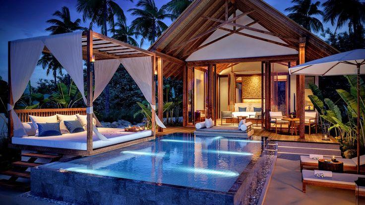 Furaveri Island Resort & Spa - private pool