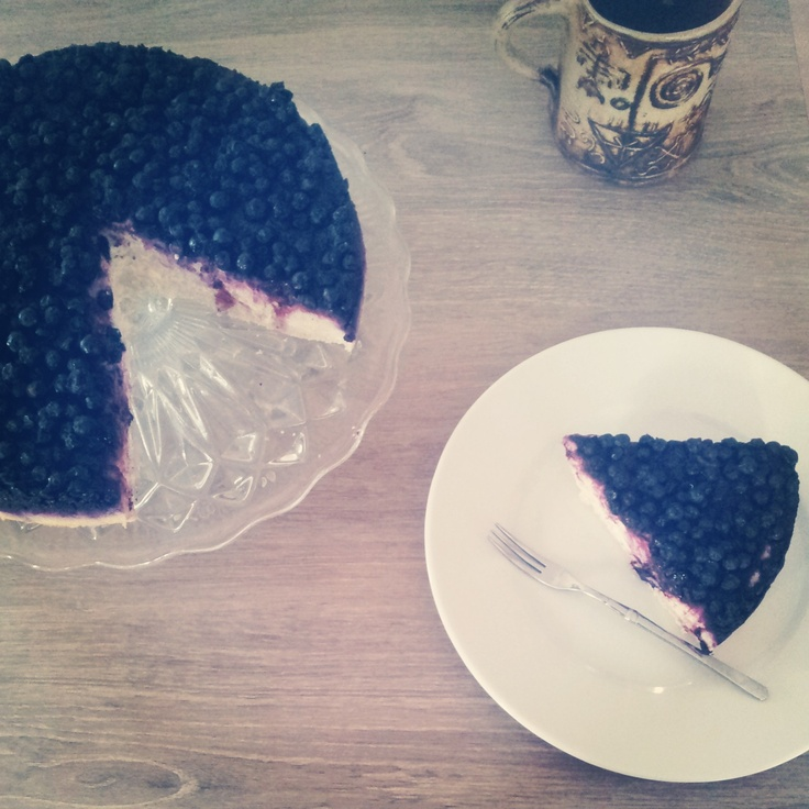 blueberry greek yogurt cake