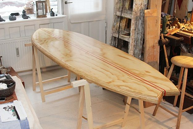 Surfboard Dining Table Google Search Beach House