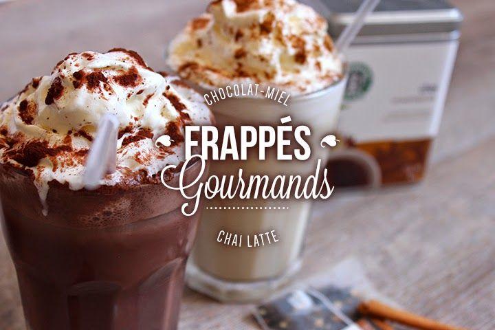 Blog Cuisine & DIY Bordeaux - Bonjour Darling - Anne-Laure: Mes boissons favorites de l'hiver frappées pour l'été : Chocolat Miel & Chaï Latte