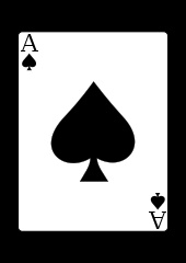 Google Image Result for http://upload.wikimedia.org/wikipedia/commons/thumb/4/49/Aceofspades.svg/170px-Aceofspades.svg.png