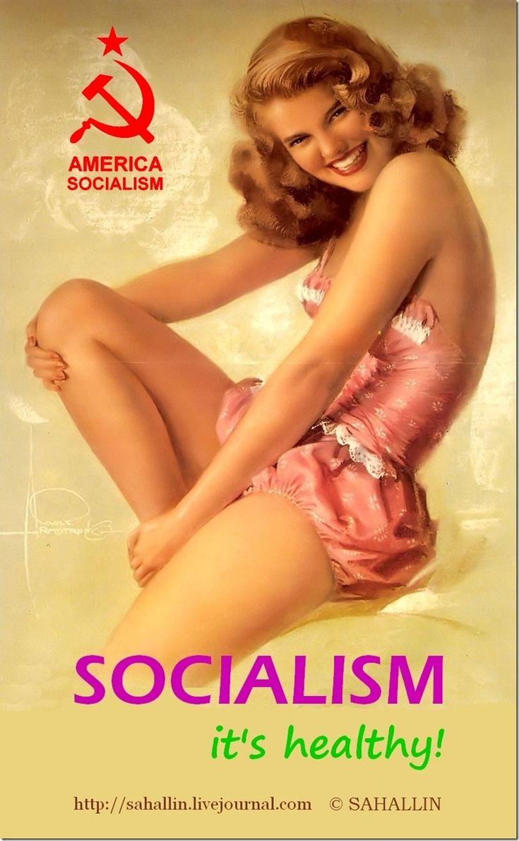 sahallin,socialism,glamour,pin-up,социализм,гламур,пин-ап
