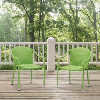Brayden Studio Crosson Dining Arm Chair Finish: Green