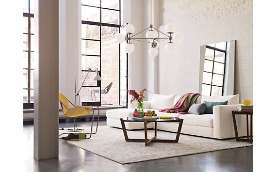 Modo chandelier 3 sided 10 globes 20367 globes for 3 sided dining room table