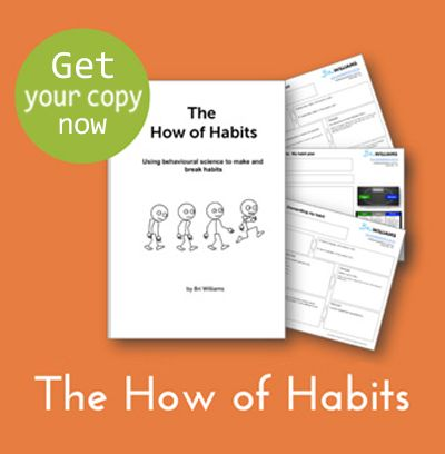 One of my books, The How of Habits