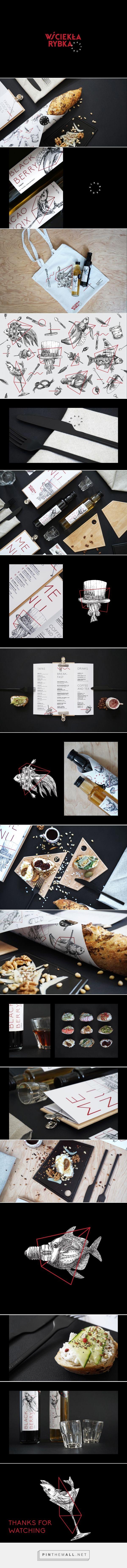 Wściekła rybka Gastro Bar Branding by Aleksandr Gusakov | Fivestar Branding Agency – Design and Branding Agency & Curated Inspiration Gallery