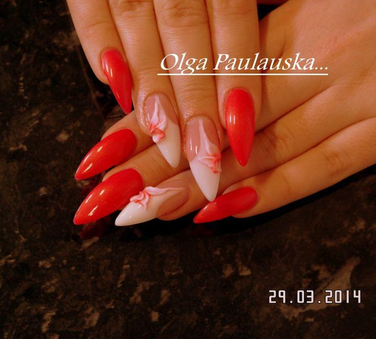 gela nagi nail-art - NAGU DIZAINS   nails   Pinterest ...