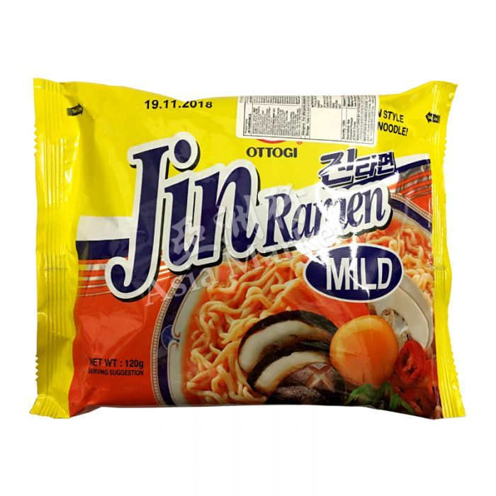 ottogi jin ramen mild 120g food ramen korean food ottogi jin ramen mild 120g food