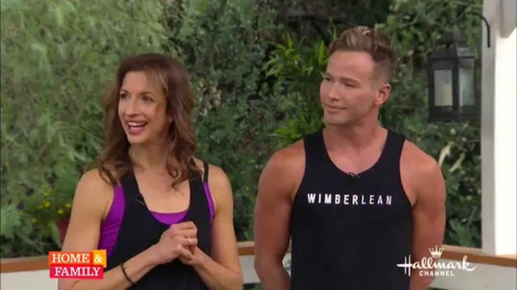 "Jason Wimberly and Alysia Reiner on Hallmark's ""Home & Family"""