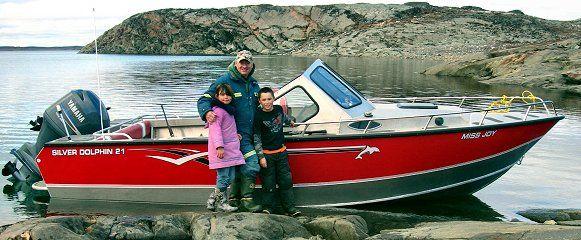 Aluminum boat gallery silver dolphin cuddy cabin fab for Aluminum boat with cabin for sale