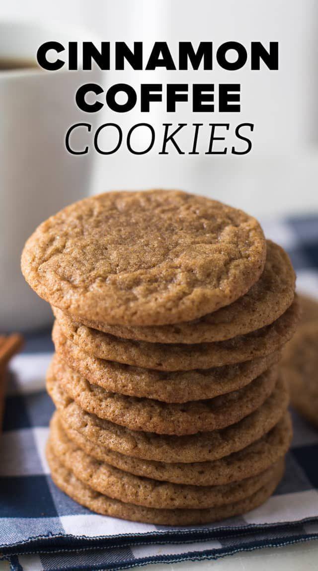 Cinnamon Coffee Cookies Recipe Coffee Cookies Recipe Easy Cookie Recipes Cookie Recipes