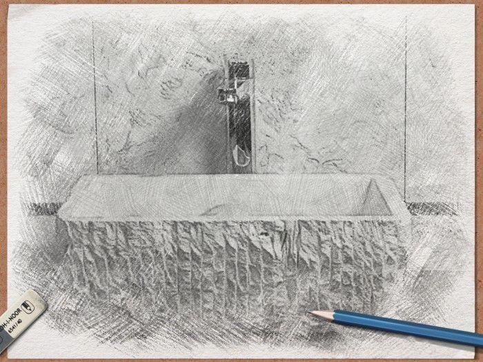 PILOZZO: Lavandino in Travertino bianco da appoggio, proveniente dalle selezioni Pietre di Rapolano. Il suo aspetto rustico é ottenuto dallo scalpellamento e dalla scavatura di un blocco di pietra. I segni dello scalpello sono evidenti sulla superficie esterna del lavabo, determinandone l'immagine finale. Dimensioni: 45 x 33 x H. 16cm Peso: 16 kg #LAVABO #LAVANDINO #TRAVERTINO #PIETRA