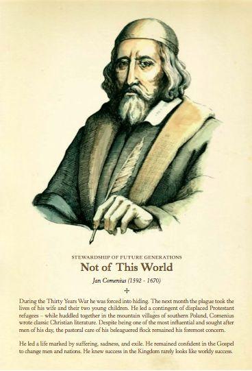 Jan Comenius, Commemorative Printable Download #KingsMeadow
