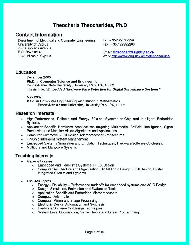 Nice The Perfect Computer Engineering Resume Sample To Get Job Soon, Check  More At Http