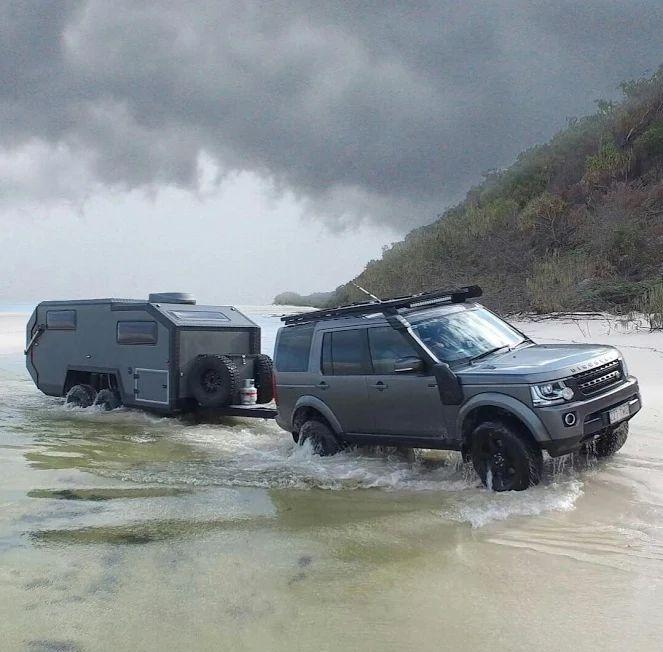 Rover & trailer
