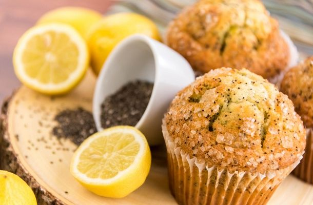 30 perces citromos-mákos muffin | femina.hu