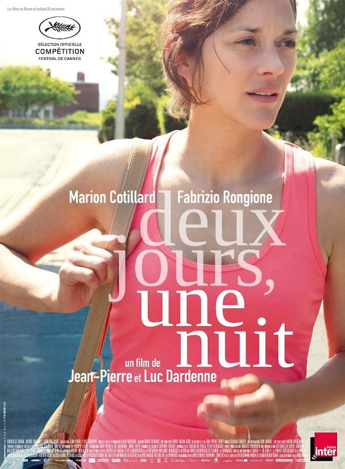 First Trailer for Dardenne Brothers' 'Two Days, One Night,' Starring Marion Cotillard.     22 - 28 August 2014 @ the GFT.