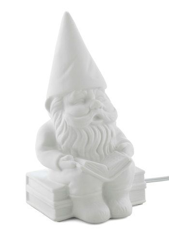 Why, of course I have a gnome lamp! Who doesn't?! Haha. That would be hysterical!