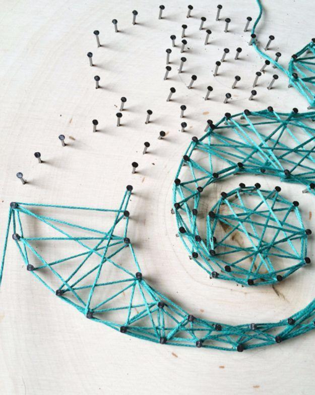 Best 25+ String art letters ideas on Pinterest | String letters ...