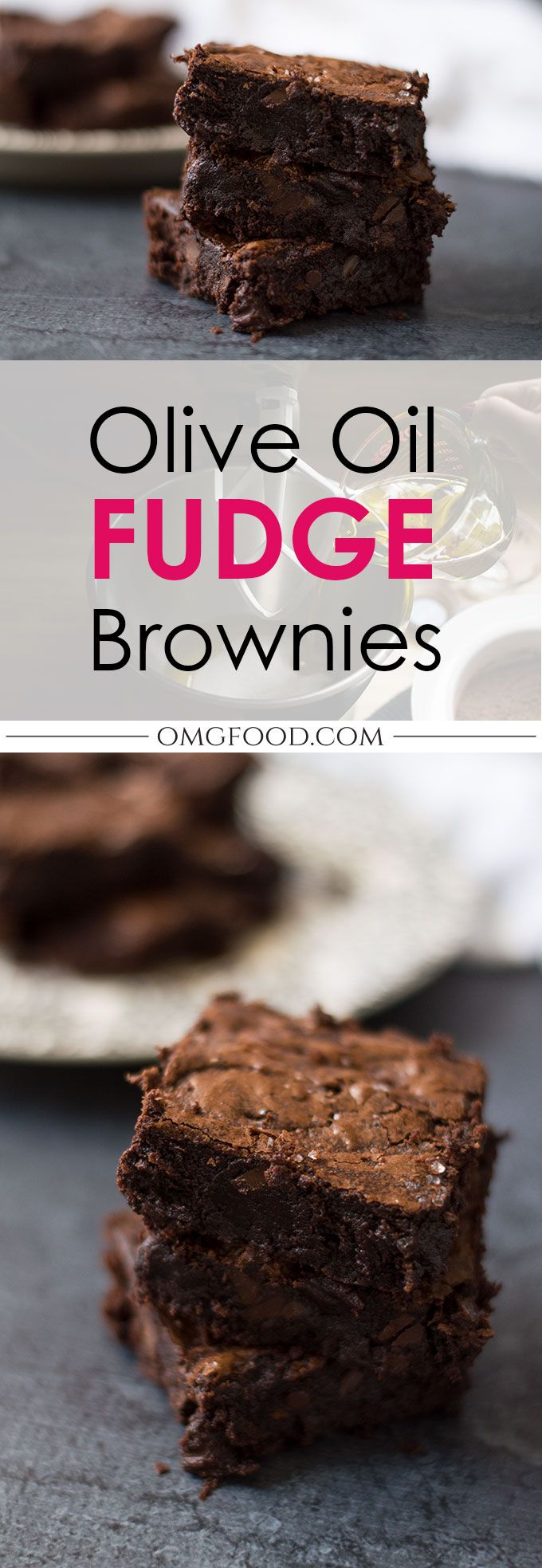 Olive Oil Fudge Brownies   omgfood.com
