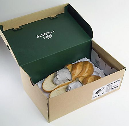 White elephant gift. Bread Shoes: Loafers You Can Eat - TechEBlog