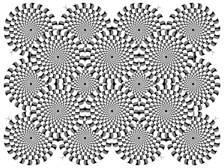 Galerie de coloriages gratuits coloriage difficile - Coloriage illusion d optique ...